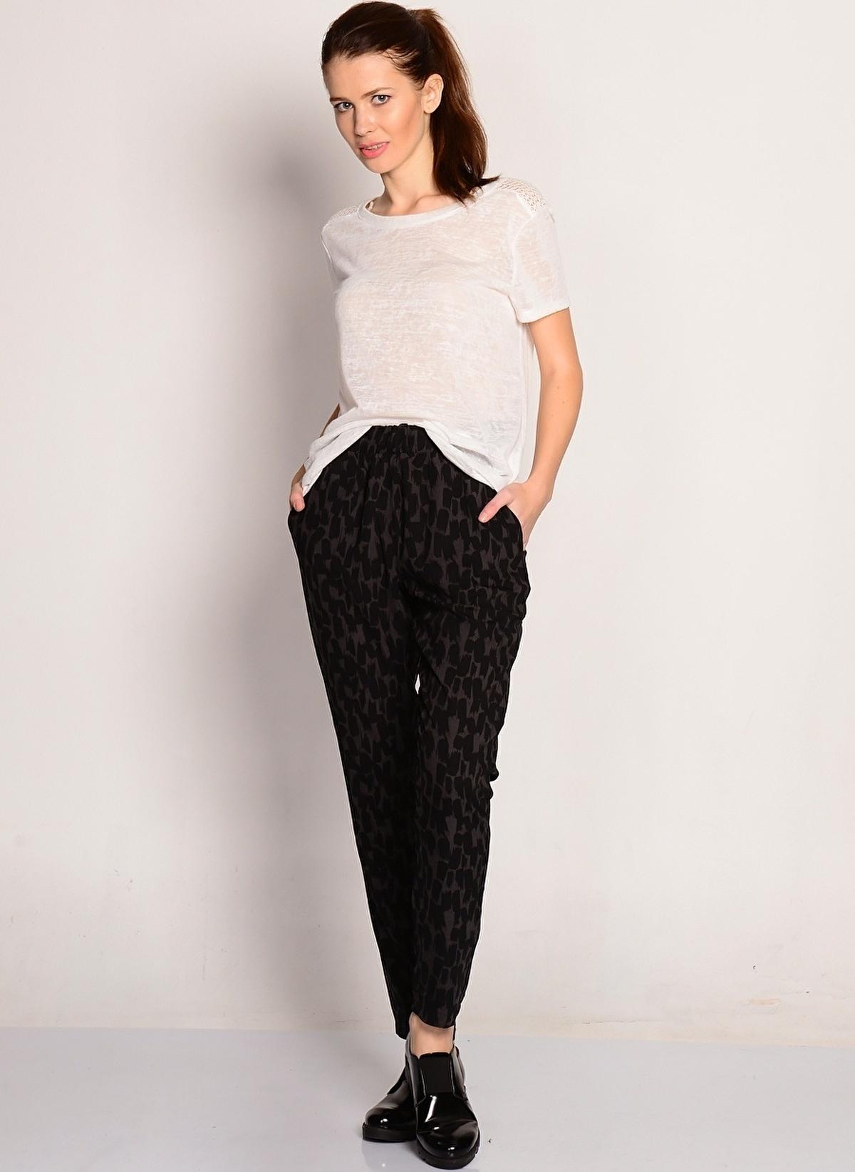 Ichi Pantolon Kadın – Trend – X – Dokuma – Pantolon – 59.99 TL